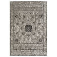Amer Cambridge Transitional 5'3 x 7'6 Area Rug in Grey