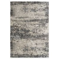 Amer Rugs Cambridge Transitional Woven 5'3 x 7'6 Area Rug in Silver