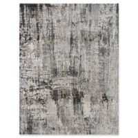 Amer Cambridge Transitional Abstract 7'10 x 10'10 Rug in Silver