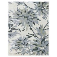 Amer Shimmer Floral 2' x 3' Accent Rug in Ivory