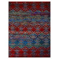 Amer Rugs® Silkshin 8' x 10' Hand-Knotted Area Rug in Blue