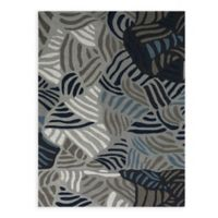 Amer Rugs Piazza Abstract 2' x 3' Rug in Grey