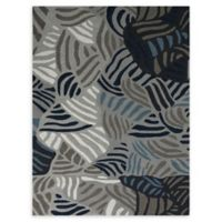 Amer Rugs Piazza Abstract 4' x 6' Rug in Grey