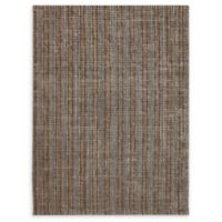 Amer Rugs Tropics Striped Hand-Woven 5' x 8' Rug in Brown