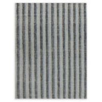 Amer Rugs Tropics Striped Hand-Woven 5' x 8' Rug in Blue