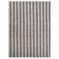 Amer Rugs Tropics Striped Hand-Woven 5' x 8' Rug in Grey