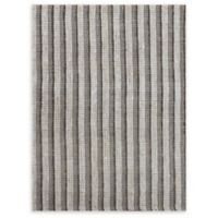 Amer Rugs Tropics Striped Hand-Woven 2'3 x 8' Rug in Grey