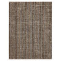 Amer Rugs Tropics Striped Hand-Woven 2'3 x 8' Rug in Brown