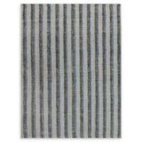 Amer Rugs Tropics Striped Hand-Woven 2'3 x 8' Rug in Blue