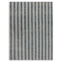 Amer Rugs Tropics Striped Hand-Woven 8' x 10' Rug in Blue