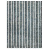 Amer Rugs Tropics Striped Hand-Woven 8' x 10' Rug in Teal