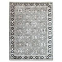 Amer Rugs Urban Medallion 5' x 8' Area Rug in Grey