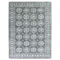 Amer Rugs Urban Medallion 5' x 8' Area Rug in Blue