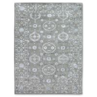 Amer Urban Traditional 7'6 x 9'6 Hand Tufted Area Rug in Silver