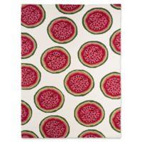 Amer Rugs Piazzamelon 7'6 x 9'6 Indoor/Outdoor Area Rug in Pink