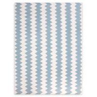 Amer Rugs Zara Flat-Weave 5' x 8' Rug in Ivory