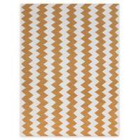 Amer Rugs Zara Flat-Weave 5' x 8' Rug in Orange