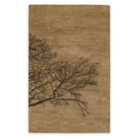 Capel Rugs Shadow Branch 8' x 11' Area Rug in Brown