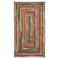 Capel Rugs Eaton Braided Multicolor 2' x 3' Accent Rug