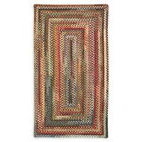 Capel Rugs Eaton Braided Multicolor 4' x 6' Area Rug