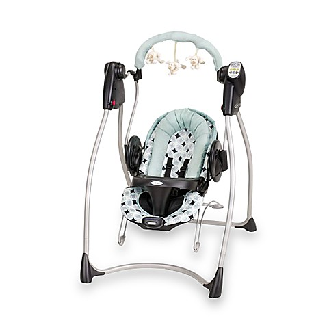 graco swing 39 n bounce 2 in 1 infant swing and bouncer hathaway buybuy baby. Black Bedroom Furniture Sets. Home Design Ideas
