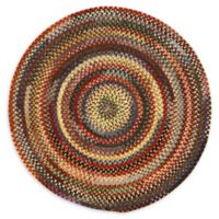 Capel Rugs Eaton Braided Multicolor 8'6 Round Rug