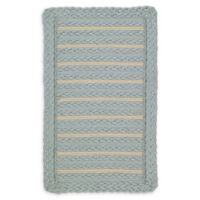Capel Rugs Boathouse 2' x 3' Indoor/Outdoor Accentr Rug in Blue