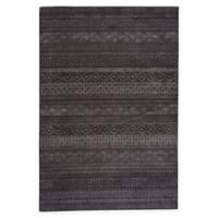 Capel Rugs Channel Woven 7'10 x 10'10 Area Rug in Black