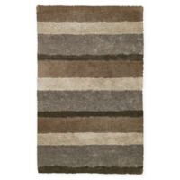 Capel Rugs City View Tufted 5' x 8' Area Rug in Beige