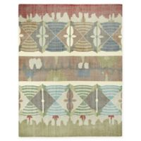 Capel Rugs Classic-Mirage Hand Knotted 5' x 8' Area Rug in Beige/Multicolor