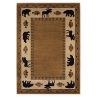 Capel Rugs Cottage Grove 5'3 x 7'6 Area Rug in Beige