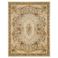 Capel Rugs Evelyn Hand-Tufted 4' x 6' Rug in Beige