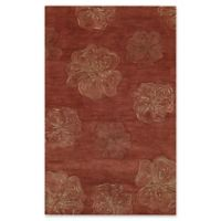 Capel Rugs Desert Plateau Hibiscus Hand-Tufted 8' x 11' Rug in Red
