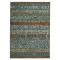 Capel Rugs Congo Hand-Tufted 8' x 11' Rug in Blue/Multi