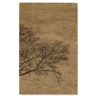 Capel Rugs Desert Plateau Shadow Branch Hand-Tufted 5' x 8' Rug in Brown