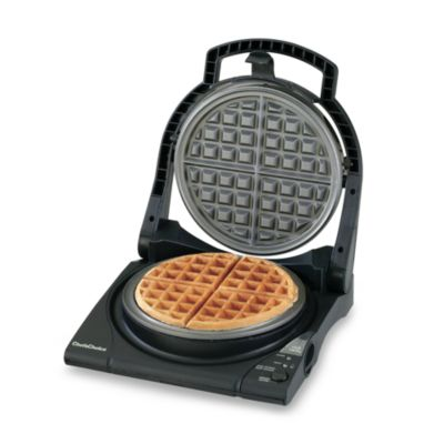 Buy Tru Dual Round Belgian Waffle Maker From Bed Bath Amp Beyond