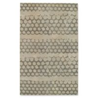 Capel Rugs Bee Hives 4' x 6' Area Rug in Grey