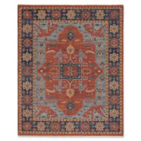 Capel Rugs Biltmore Nomad Hand-Knotted 5'6 x 8'6 Area Rug in Red/Blue
