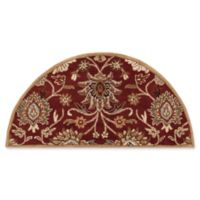Surya Caesar 2' x 4' Hand Tufted Hearth Rug in Red/Cream