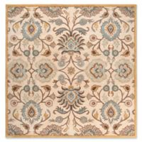 Surya Caesar 4' Square Hand Tufted Accent Rug in Grey/Beige