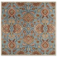 Surya Caesar 4' Square Accent Rug in Grey/Brown