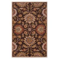 Surya Caesar 5' x 8' Hand Tufted Area Rug in Brown/Red