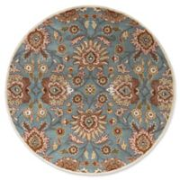 Surya Caesar 6' Round Hand Tufted Area Rug in Grey/Brown