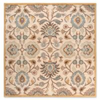 Surya Caesar 6' Square Hand Tufted Area Rug in Grey/Beige