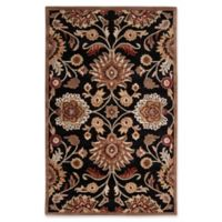 Surya Caesar 6' x 9' Hand Tufted Area Rug in Black/Brown