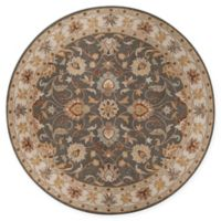 Surya Caesar Classic Hand-Tufted 8' Round Area Rug in Charcoal