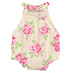 Baby Starters® Size 9M Rose Sunsuit in Ivory