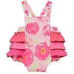 Baby Starters® Newborn Floral Sunsuit in Pink