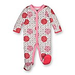 Lamaze® Newborn Polka Dot and Arrow Footie in Pink/Red