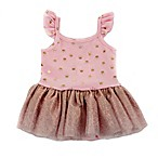 Kidding Around Size 9M Foil Crown Tutu Romper